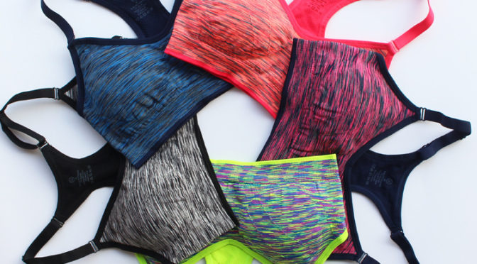 fashion bra in various colors