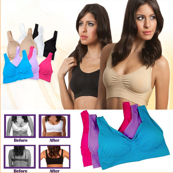 b04cc38770a51 Push Up Bra for Fitness - 3 pieces - Sports and Accessories