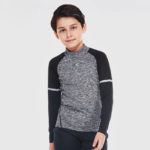 Wearing this combination your child is protected while enjoying his favorite sport
