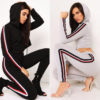 women tracksuit with hood